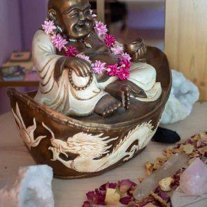 Formation Reiki 3ème degré, Bouddha heureux Reiki au Dojo Aloha