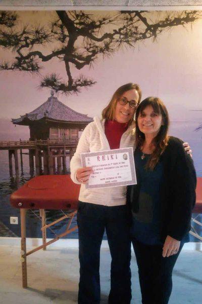 Initiation reiki 1 er degré par Reiki Provence au Dojo Aloha à Aix en Provence
